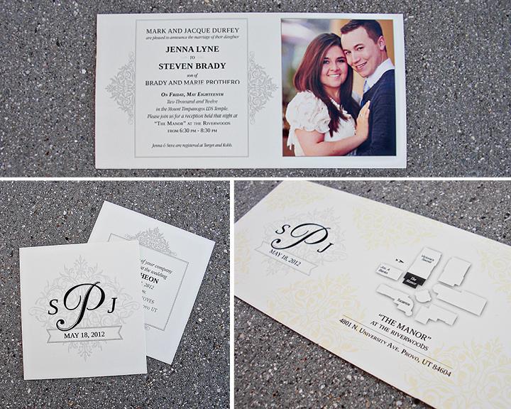 Kimberly Church || Classic Wedding Invitations