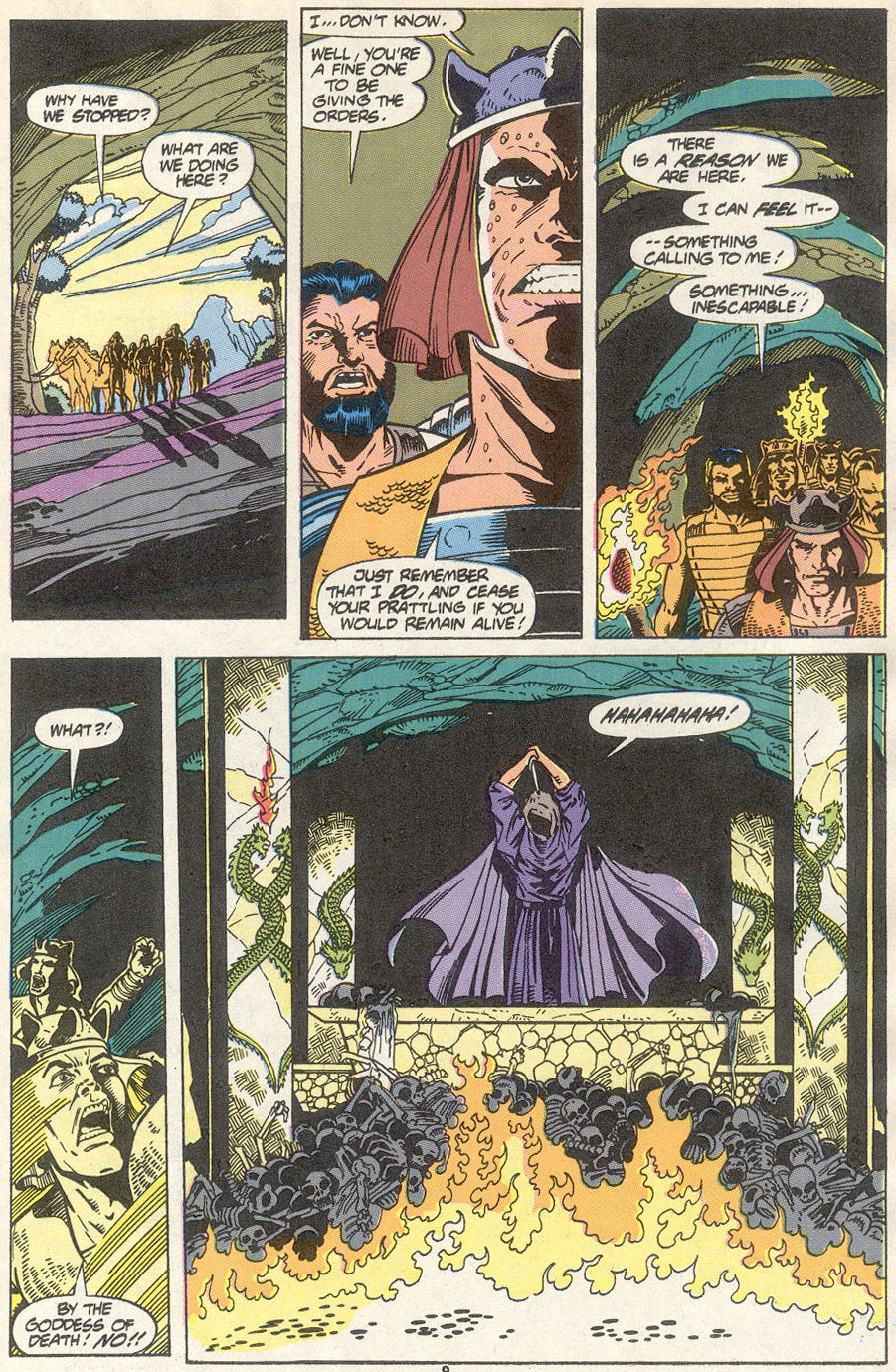 Conan the Barbarian (1970) Issue #234 #246 - English 8