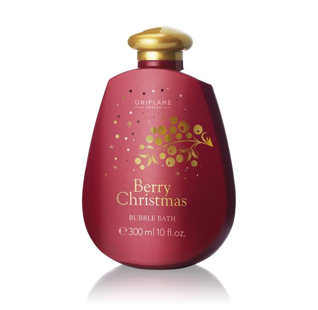 Espuma de Banho Berry Christmas da Oriflame