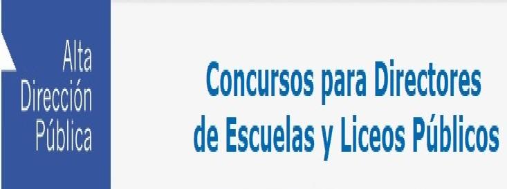 Concurso para Directores De Escuelas y Liceos Publicos