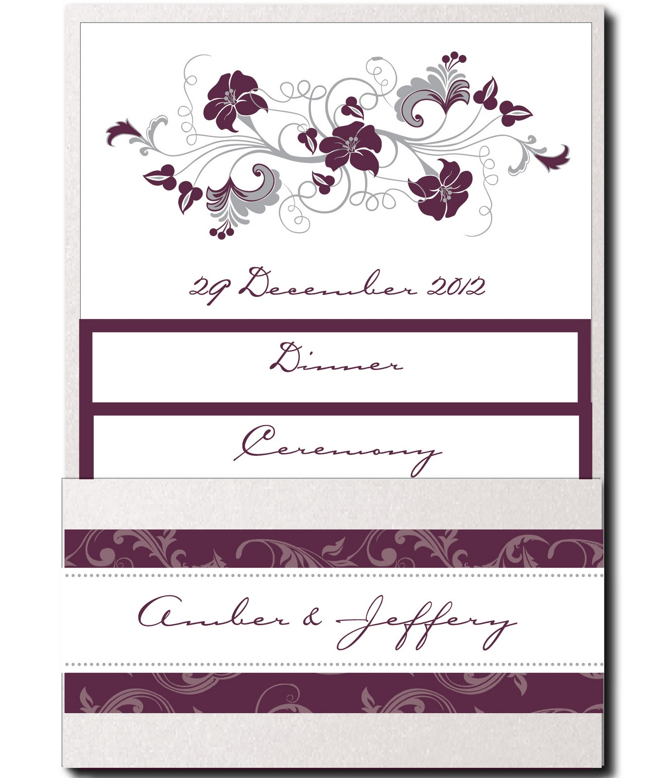 Wedding Invitation Blog: NEW! Pocket Wedding Invitations