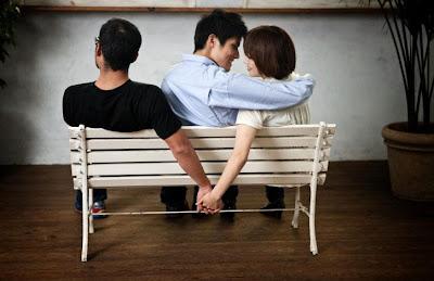 The Back-Up Boyfriend  - woman cheat on man guy boyfriend