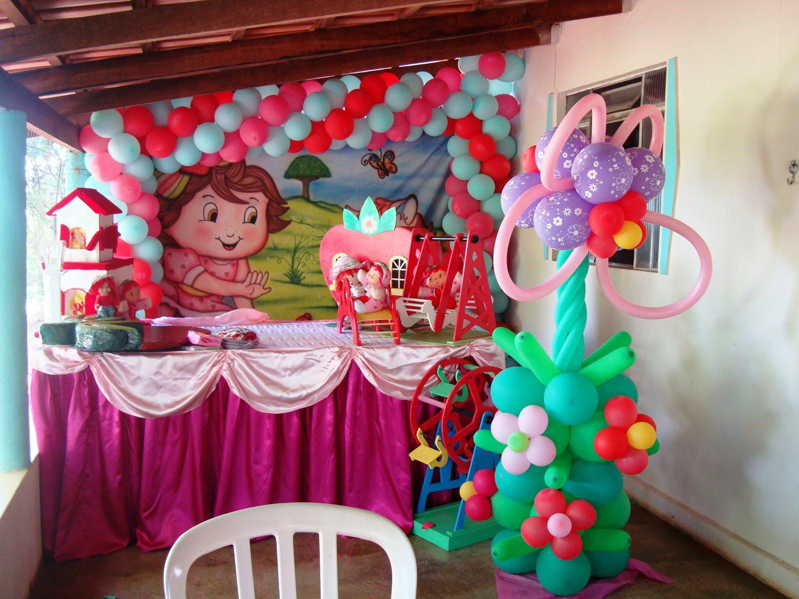 Festa De 1 Aninho Da Pequena Amandinha