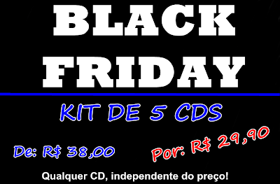 Black Friday dos Cds Universitários