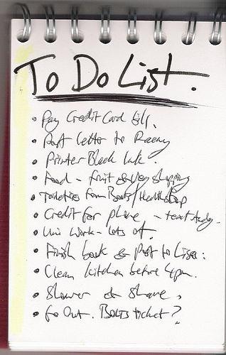 prayer lists