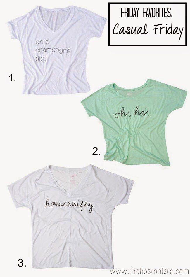 Friday Faves, Friday Favorites, Casual Friday, Boston Fashion, Boston Fashion Blog, housewifey tee, Shopping, How To Wear a Graphic Tee