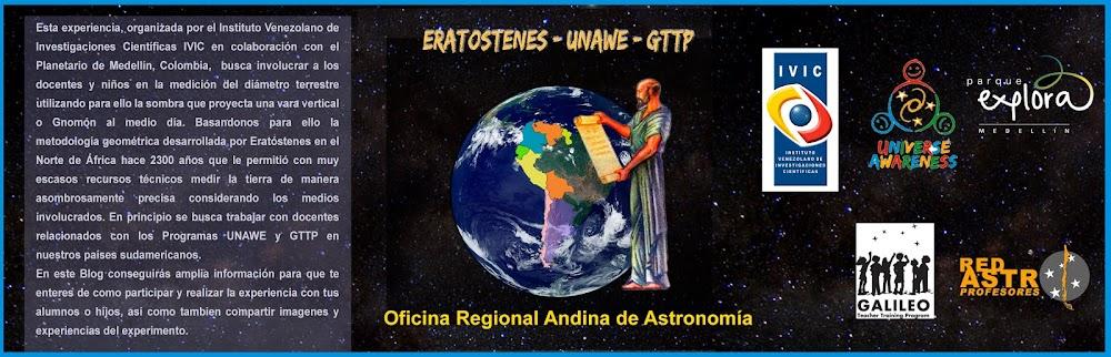 Eratóstenes UNAWE Países Andínos