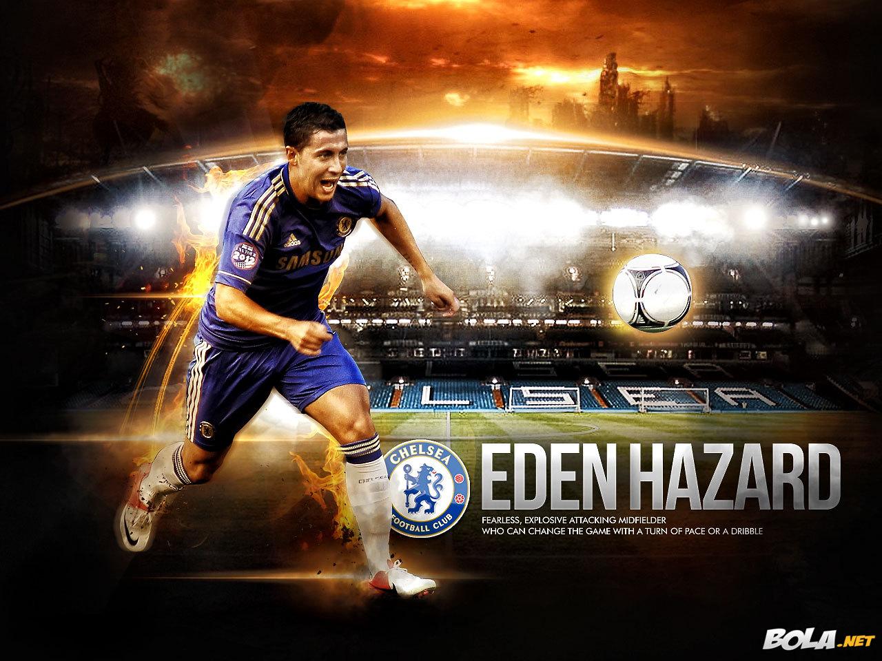 wallpapers hd for mac: Eden Hazard Chelsea Wallpaper HD 2013
