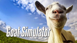 Screenshots of the Goat simulator for Android tablet, phone.