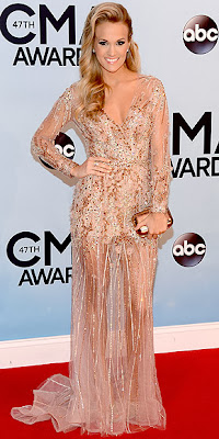 Carrie Underwood, CMA Awards, red carpet