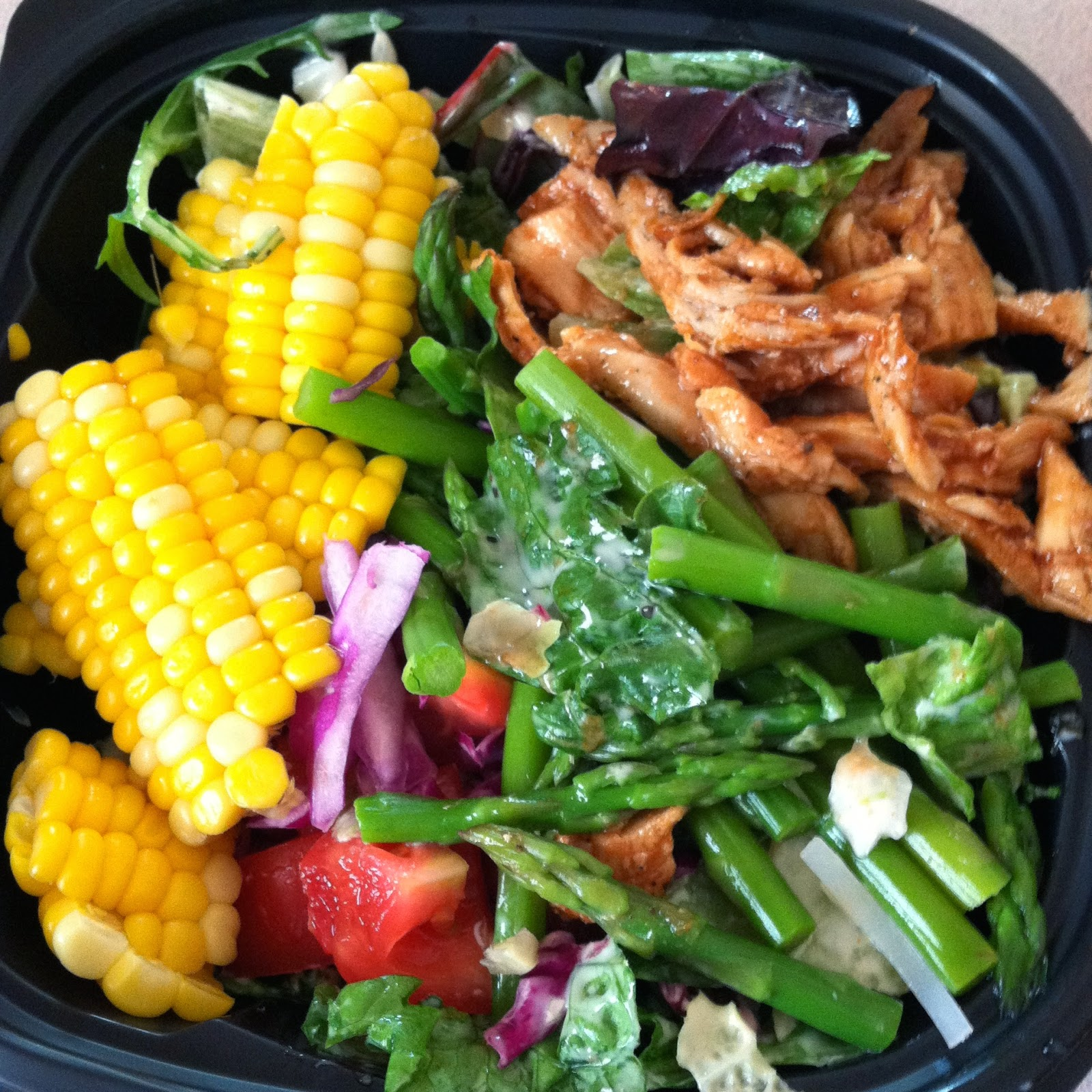 be real noodles and company backyard barbecue chicken salad