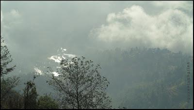 Trên núi Himalaya