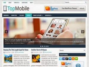 TopMobile - Free Wordpress Theme