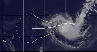 Südwest-Indik: Tropischer Sturm 02S (potenziell BENILDE) bei Mauritius und Reunion, Madagaskar, Reunion, Mauritius, Zyklonsaison Südwest-Indik, Benilde, Satellitenbild Satellitenbilder, aktuell, Dezember, 2011, Indischer Ozean Indik, /td></tr> <tr><td class=