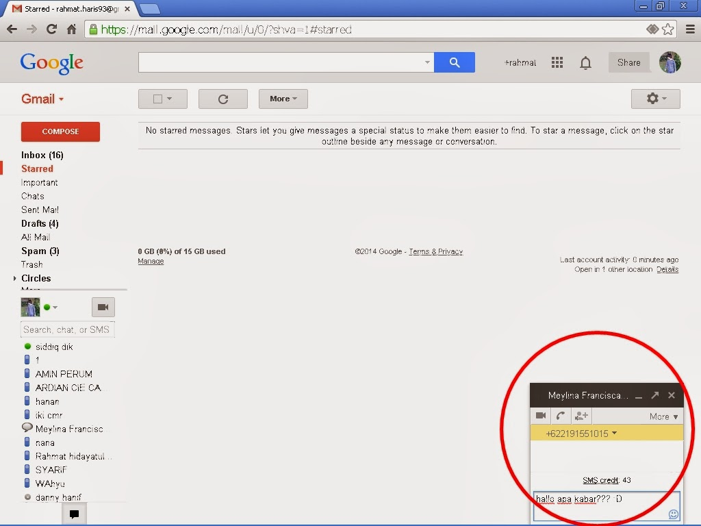 kirim sms gratis lewat gmail