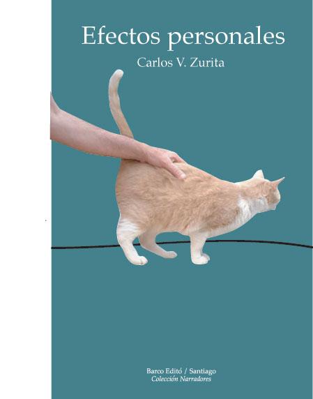 Efectos personales con gato