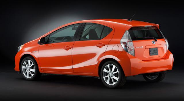 2012 Toyota Prius C Tokyo Motor Show