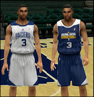 NBA 2K13 Indiana Pacers Practice Jersey Patch