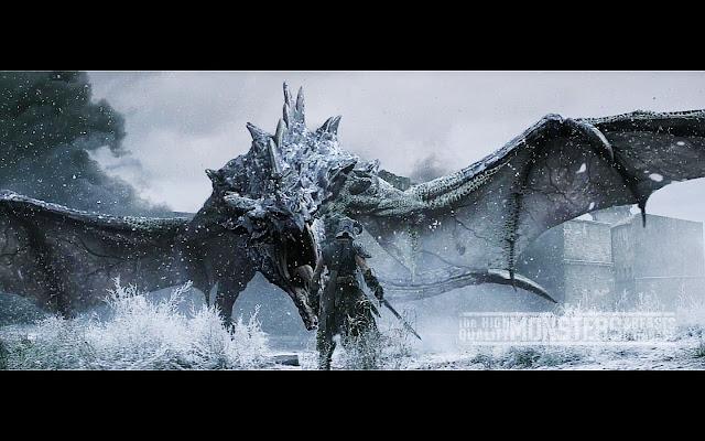 APAKAH BINATANG NAGA ITU ADA? Skyrim+Dragon+live+action