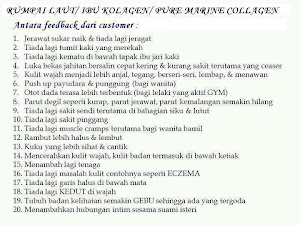 Testimoni Marine Collagen