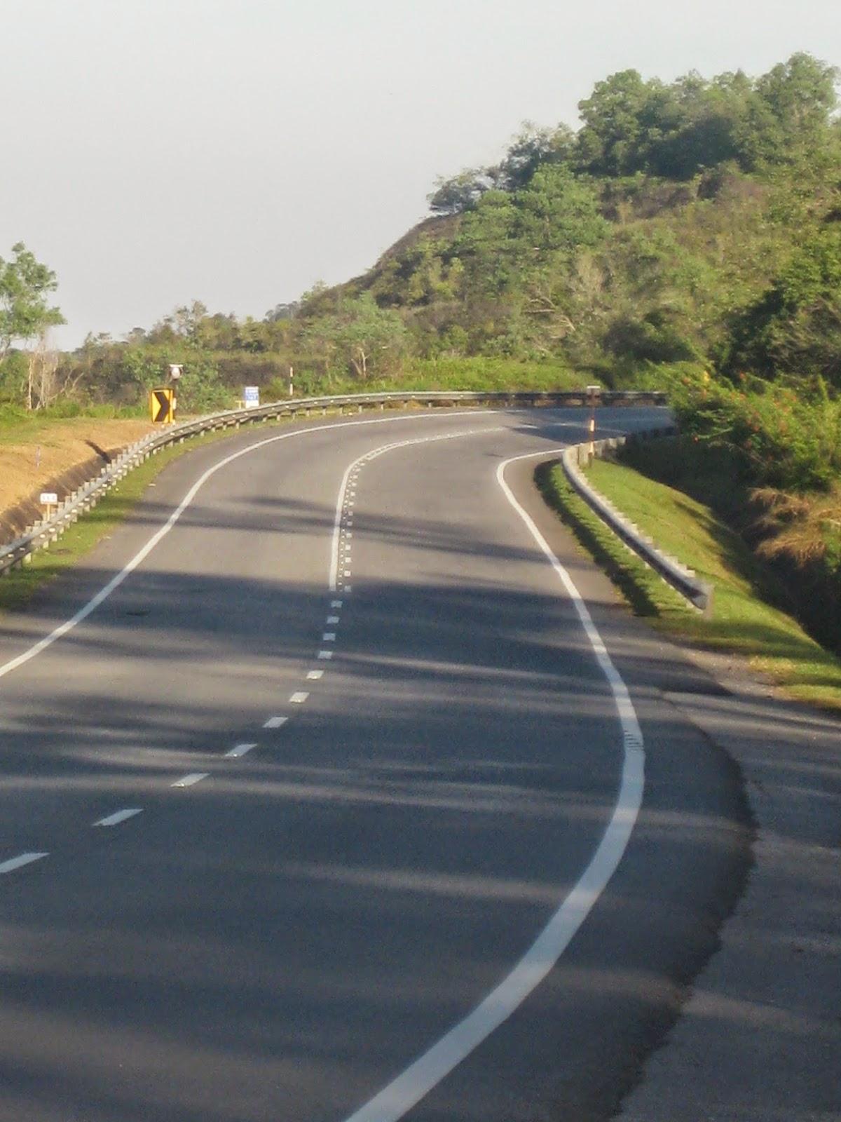 Jalan Raya Timur Barat Gerik Jeli Dibuka Untuk Kenderaan Ringan