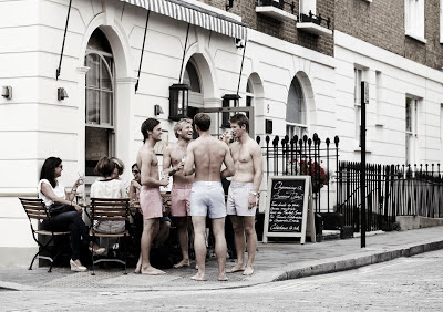 Men's Fashion by Francesco: Tailored Boxers by Hamilton & Hare