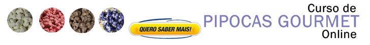 CURSO DE PIPOCAS GOURMET ONLINE