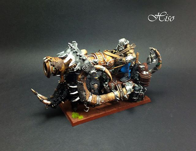 Warhammer - Ogres - Boutte Fer