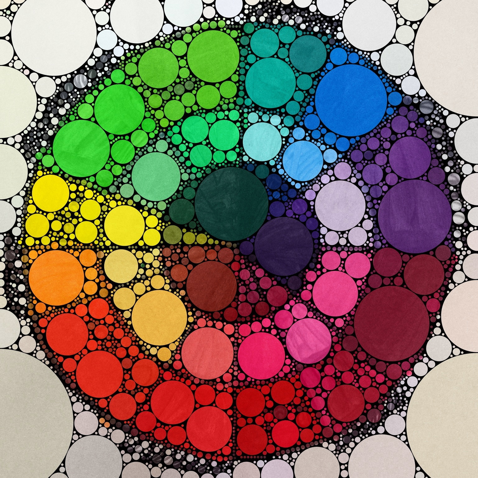 The bees knees cousin l p updated color wheels for Picture of colour wheel