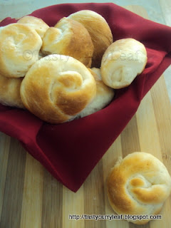 Baking Partners # 4: Shaped Dinner Rolls
