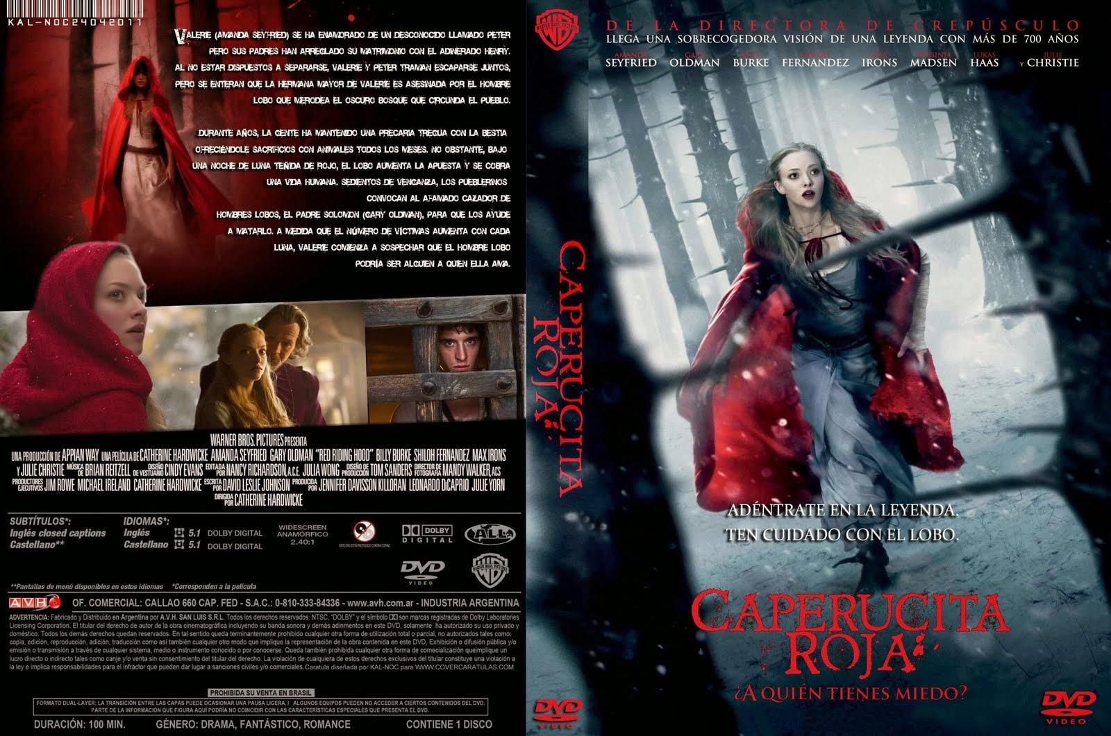 Caperucita Roja ¿A Quien Tienes Miedo? DVD