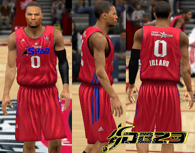 NBA 2K13 Team Shaq Away Jersey Mod