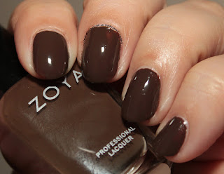 Zoya Focus Collection swatches and review Desiree