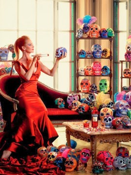 Campari 2014 calendario Octubre Uma Thurman