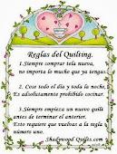 ORACIÓN DE LA QUILTER
