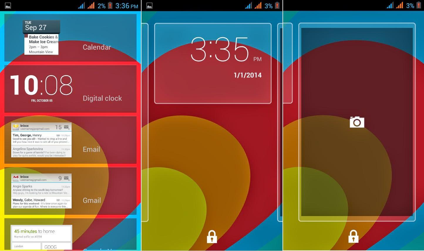 O Plus USA Fab GO Review: Big Move Lockscreen Widget