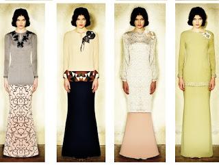 Trend Baju Wanita Hari Raya 2013