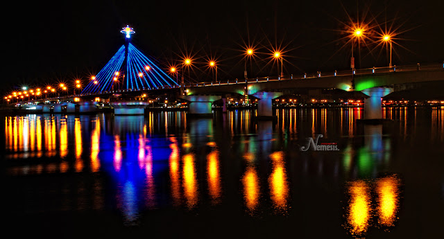 Han River bridge in Da Nang - Vietnam