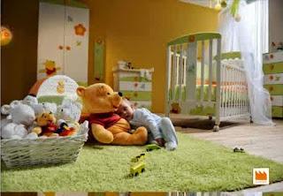winnie the pooh baby nursery room theme design