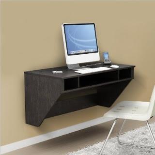 Wall Mounted Desk: Wall Mounted Computer Desk
