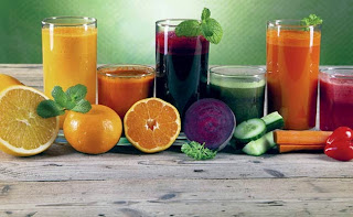 Juices & liquid for healthy brain