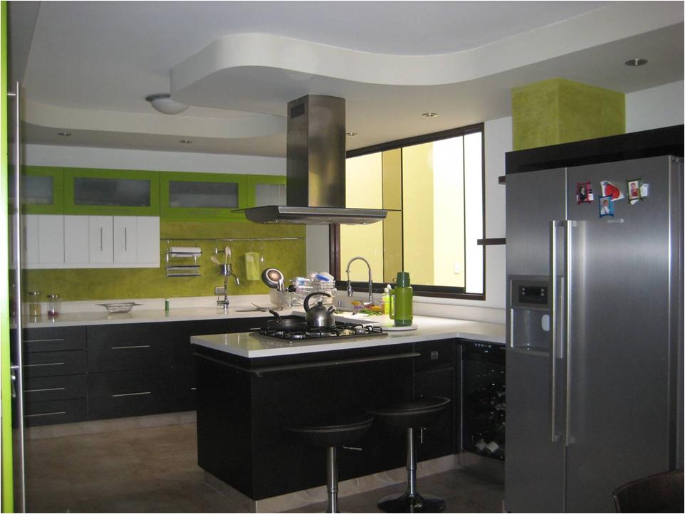 Oniria antes y despu s remodelacion de cocina for Techos de drywall para cocinas