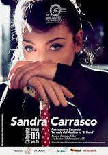 SANDRA CARRASCO - RESTAURANTE ESZENCIA TERRAZA AUDITORIO EL BATEL CARTAGENA DOMINGO 09.07.17 A 21H