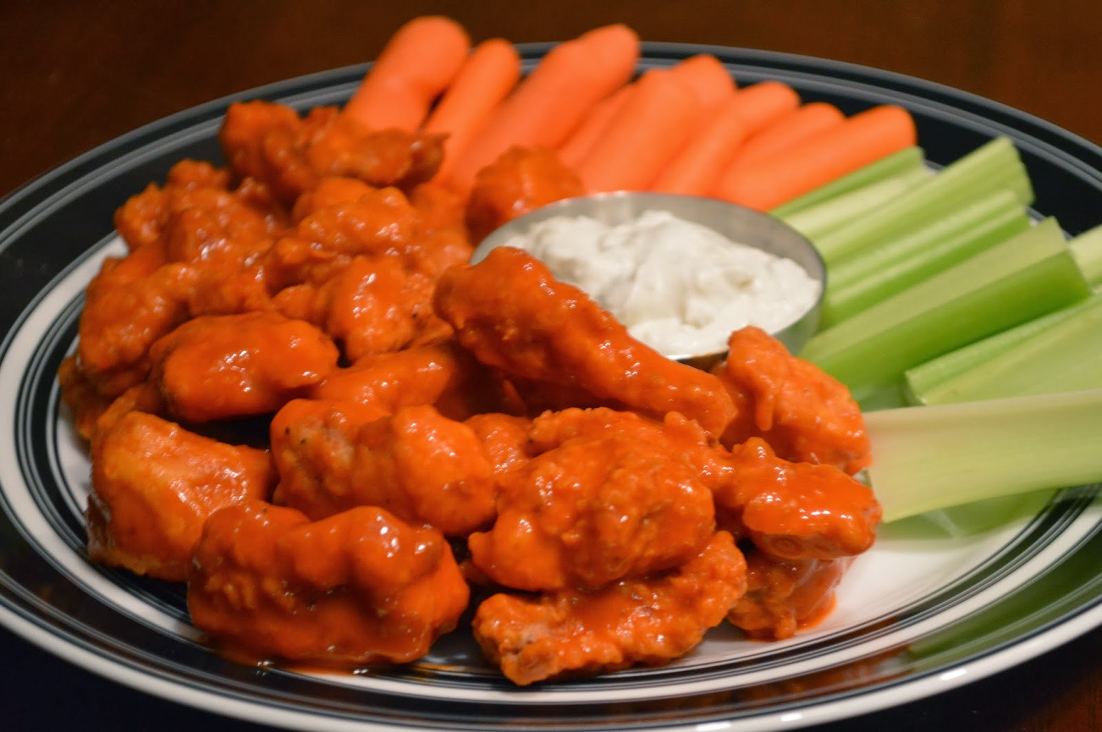 ... Football Friday: Boneless Buffalo Wings and Blue Cheese Dipping Sauce