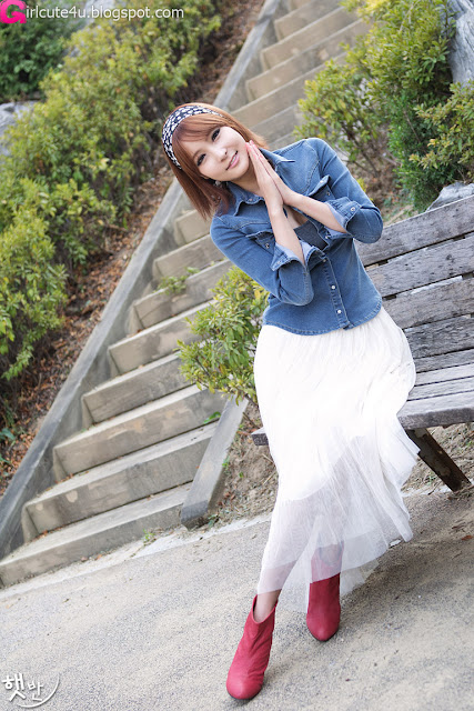 6 Jang Jung Eun - Outdoor-very cute asian girl-girlcute4u.blogspot.com