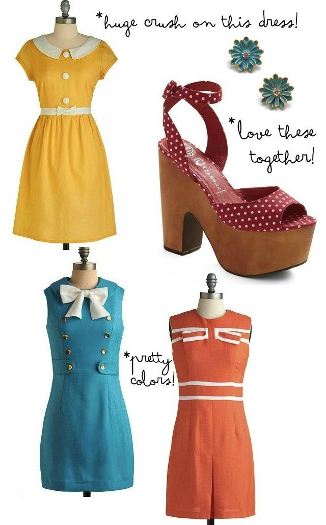 Fall fashion crush // 1960s mod