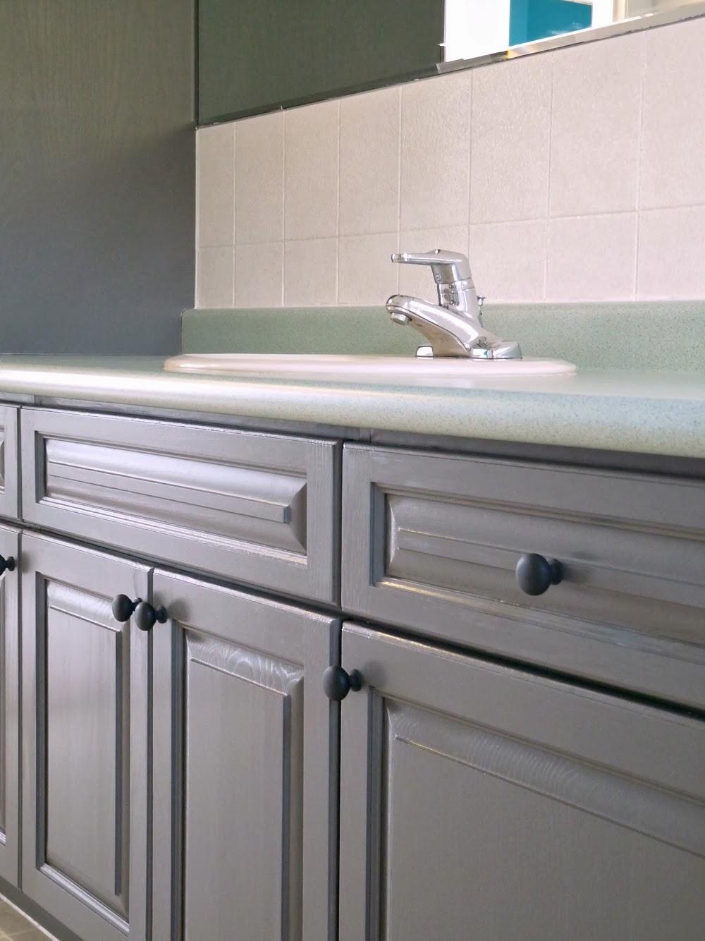 how to refinish bathroom cabinets easily review of rust oleum cabinet