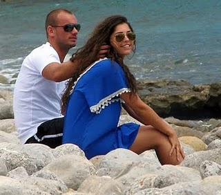 Wesley Sneijder Girlfriend