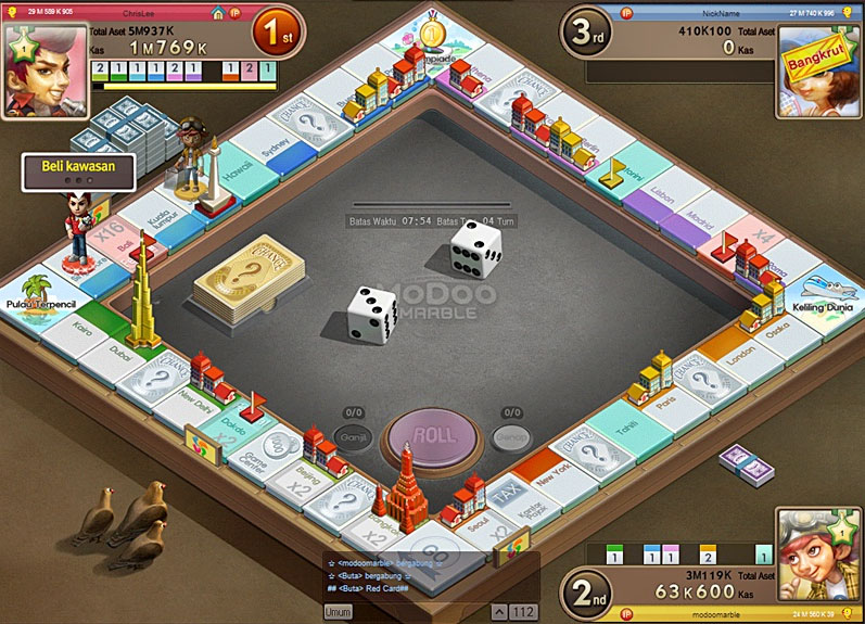Gownload game MODOO MARBLE Di Sini