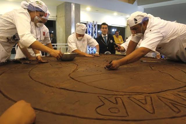 venezuela record guinness moneda chocolate mas grande del mundo